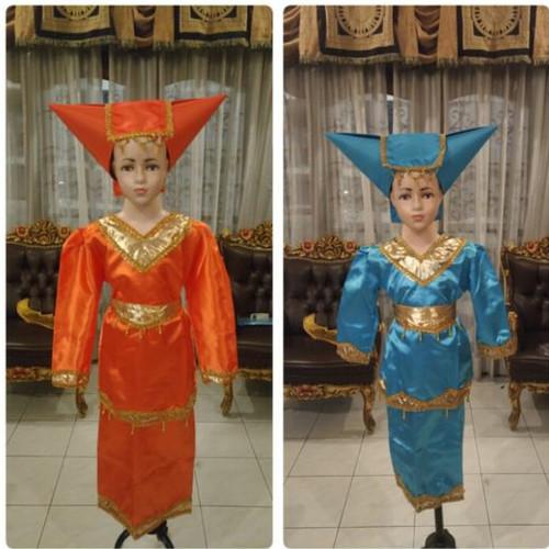 Foto Produk Pakaian adat padang anak baju sumatra Lk/Pr - Fanta, CEWE S dari FAUZAN GHIFFARY SHOP
