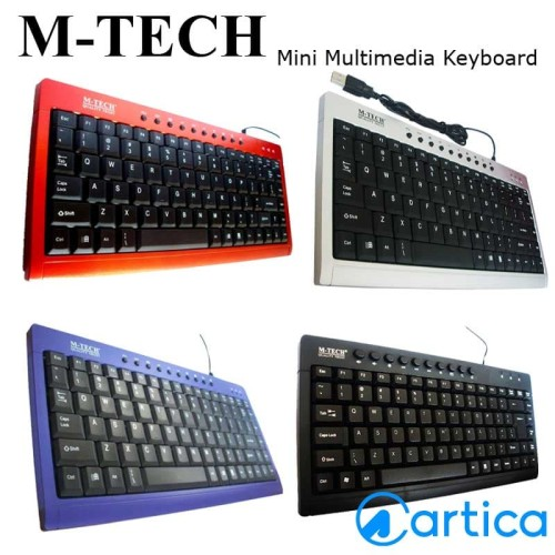 Foto Produk Keyboard Mtech Mini Multimedia dari Artica Computer