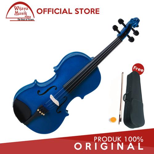 Foto Produk Giuseppi Biola Klasik / Classic Violin (1/2) GV-10 - Biru dari Wijaya Musik Putra