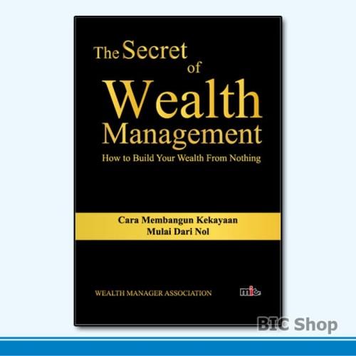 Foto Produk Buku The Secret of Wealth Management   Wealth Manager Association dari BIC Shop