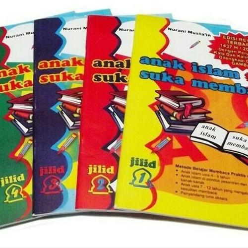 Foto Produk BUKU ANAK ISLAM SUKA MEMBACA EDISI REVISI LENGKAP JILID 1 - 5 dari Mall Buku