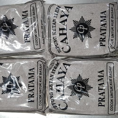 Foto Produk Tepung ketan hitam ( TKH ) Cahaya ASLI 100% Bukan Kuda Laut / Kumala dari Sinar Terang Regency