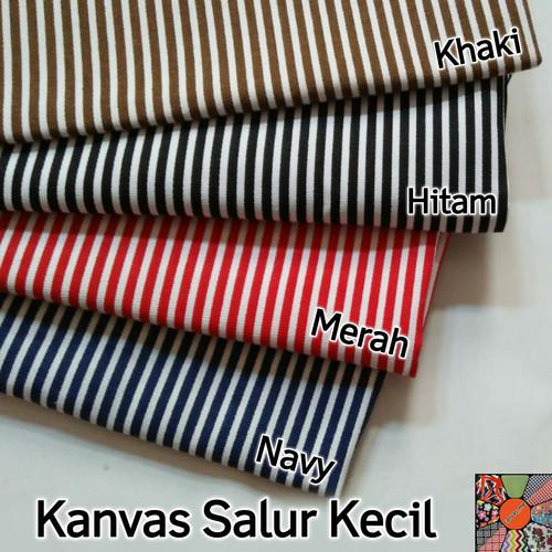 Foto Produk Kain Kanvas Line (thin) - Navy dari canvas_me