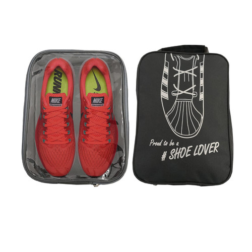 Foto Produk Tas Sepatu Travel Bag Tas Olahraga Fitness Gym Shoes Bag Organizer L - Cokelat Tua dari lbagstore