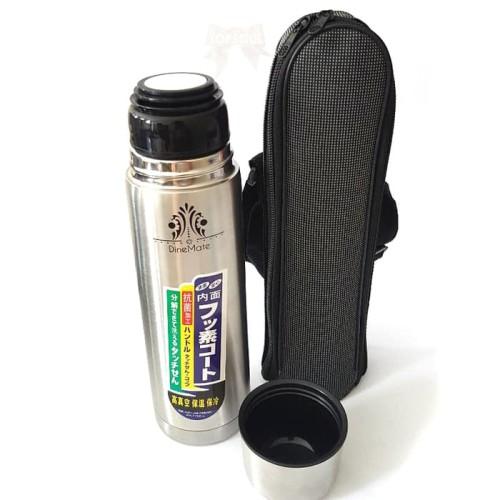 Foto Produk Termos Kapsul + Sarung 500 ml / Vacuum Flask Air Panas Botol Stainless dari Maxi Larish