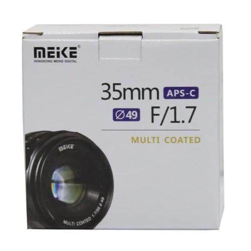 Foto Produk Meike 35mm F1.7 For Sony E-Mount dari Stephen online