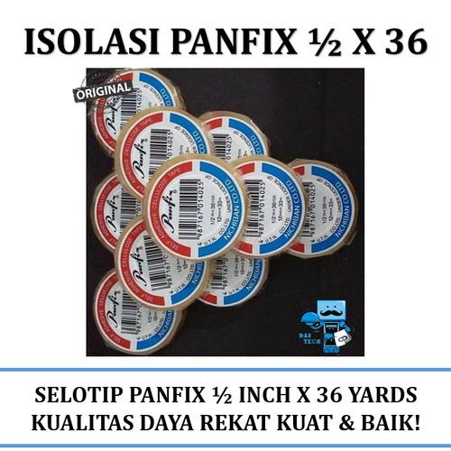 Foto Produk Isolasi Panfix 1/2 X 36 Cellulose Tape dari Das Livia Computer