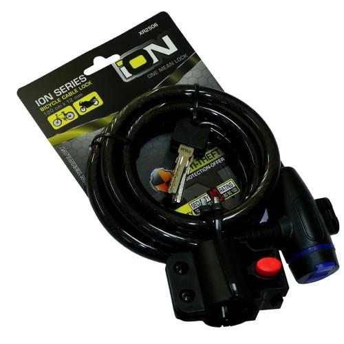 Foto Produk ION 2506 Gembok Sepeda/Lock Sepeda/Kunci Sepeda dari ElementIndonesia