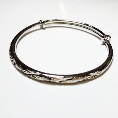 Foto Produk VeE Gelang Titanium Ukir - Pria Wanita - Terapi Kesehatan dari Vee Jewelry