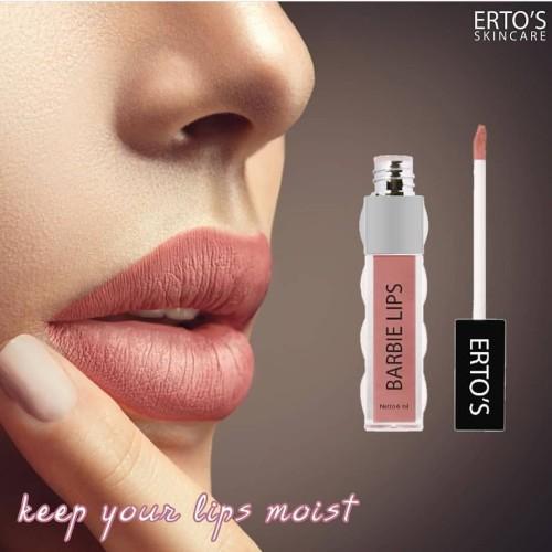 Foto Produk Ertos Barbie Lips Matte - Lipstik Matte - Skincare Original BPOM dari duadus
