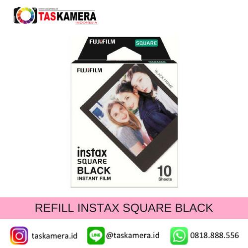 Foto Produk Refill Instax Square Film Black - isi 10 lembar dari taskamera-id