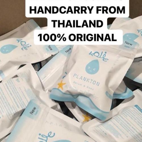 Foto Produk Kojic Plankton Soap & Serum ORIGINAL Thailand / Sabun Wajah dari Scentio Body Lotion