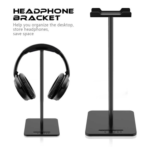 Foto Produk NEW BEE Universal Gaming Studio Headphone Stand Hanger Bracket - Hitam dari SEMURGET
