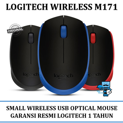 Foto Produk Mouse Logitech M 171 Wireless - 910-004655 - Original dari Das Livia Computer