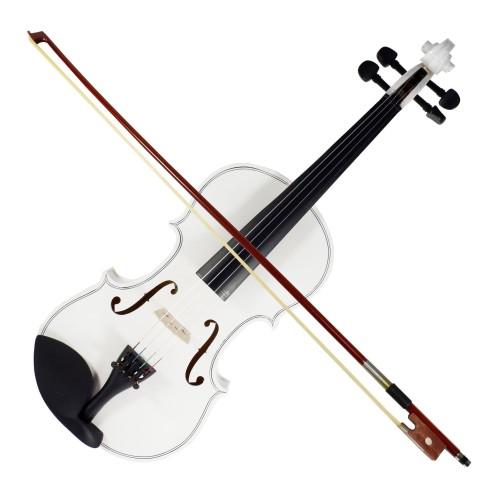 Foto Produk Biola Violin 4/4 Full Solid Wood Lespoir Hardcase Bow Rosin VL-44W dari BRANDOS