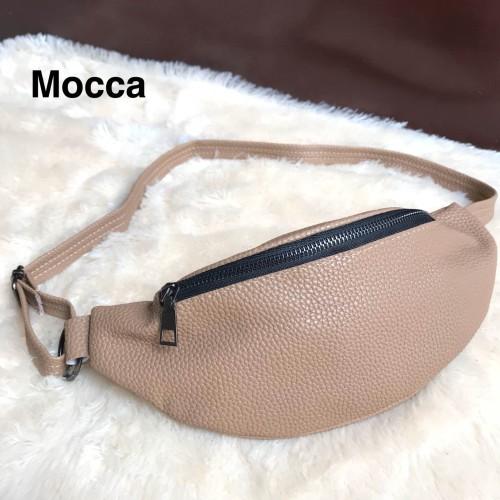 Foto Produk Supplier tas wanita bag murah selempang import cewek sale SUN WAISTBAG - Beige dari sopaybags