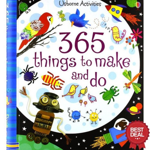 Foto Produk Usborne Activities Book - 365 Things to Make and Do dari Julyani25toserba