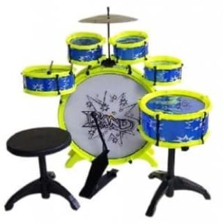 Foto Produk Mainan Edukatif / Edukasi Anak - Big Band Drum Set Cymbal Musik Music dari HM Plaza