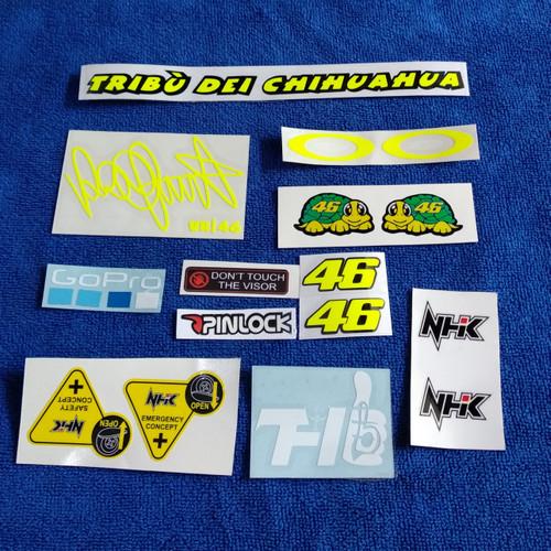 Foto Produk Promo Stiker visor set Rossi dari TOKO HELM BOGOR