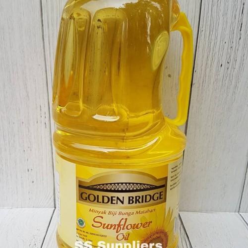 Foto Produk GOLDEN BRIDGE SUNFLOWER OIL 2 L Best Seller! dari SS Suppliers F&B Jakarta