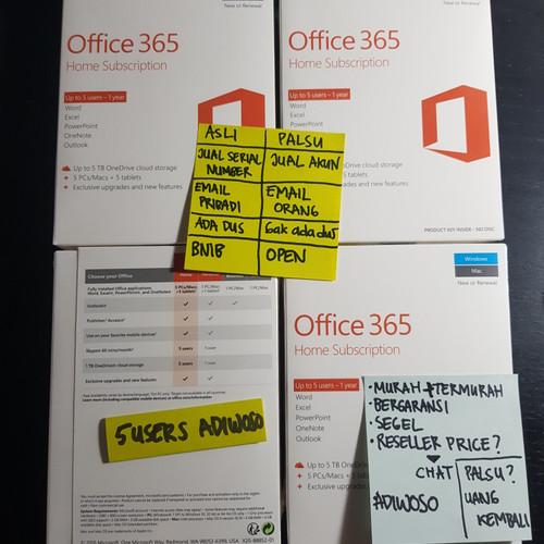 Foto Produk Microsoft Office 365 Home Premium 6 Users - 1 year ORIGINAL - ESD dari Adiwoso