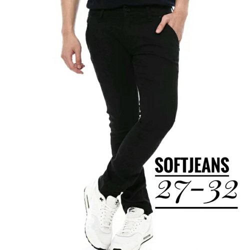Foto Produk Celana Jeans Hitam Pria skinny - Hitam, 27 dari kayu shop