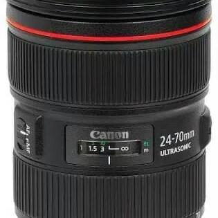 Foto Produk Lensa canon EF 24-70mm F/2.8 ultrasonic - Hitam dari X ONE CAM