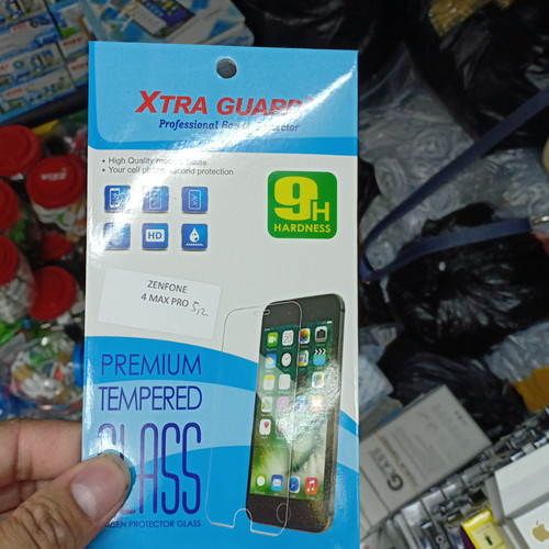 Foto Produk TEMPERED GLASS ASUS ZENFONE 4 MAX 5.2 dari king acc&sparepart hp