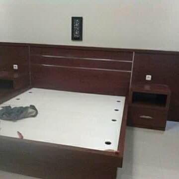 Foto Produk Kamar set apartemen, Bedroom Set Tipe 09, vila, Hotel, bungalo dari Serba Paling Murah