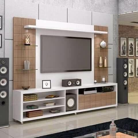 Foto Produk custome Lemari Tv apartemen, Backdrop, 200*30*200 bungalo dari Serba Paling Murah