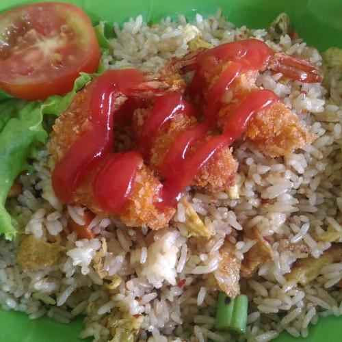 Foto Produk Nasi goreng udang goreng tepung dari Warunk_Abank