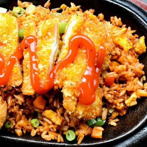 Foto Produk Nasi goreng chicken katsu dari Warunk_Abank