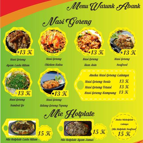 Foto Produk Semua menu serba 30ribu dapet 2porsi dari Warunk_Abank