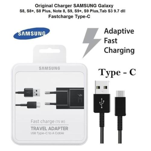 Foto Produk CHARGER SAMSUNG GALAXY S8+ NOTE8 NOTE 8 ORI KABEL USB TYPE C ORIGINAL dari ORIGINAL CHARGER