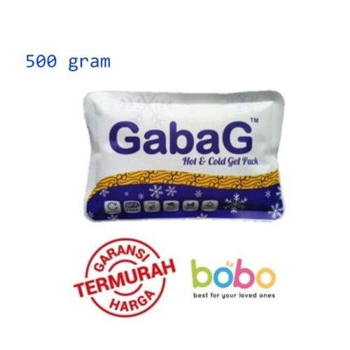Foto Produk GabaG Besar Ice Gel 500 gram   GabaG Big Ice Pack 500 gr dari bobo baby shop