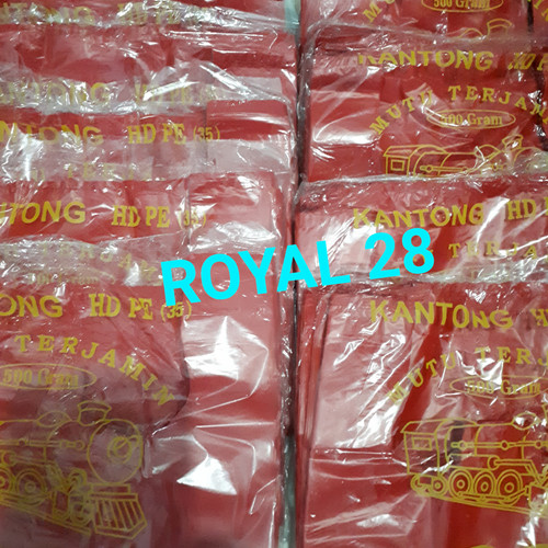 Foto Produk Kantong Plastik Loco Merah Tebal - 28 dari Royal 28