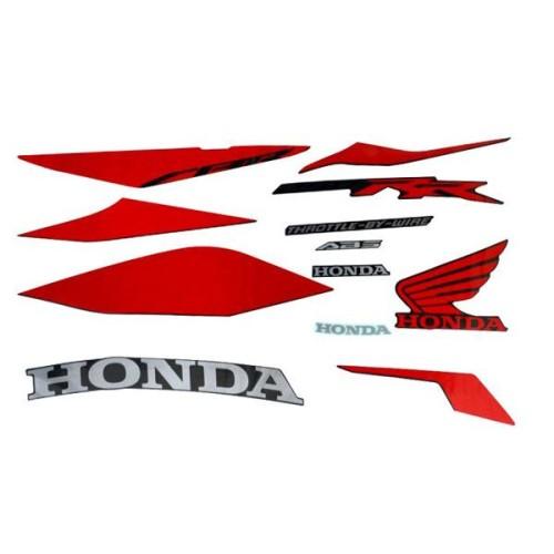 Foto Produk Stripe Set Left Black (ABS) – CBR 250RR 871X0K64N21ZAL dari Honda Cengkareng