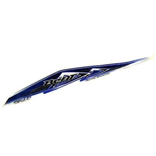 Foto Produk Sticker Body Kiri Blue White – BeAT FI 871X0K25900ZDL dari Honda Cengkareng
