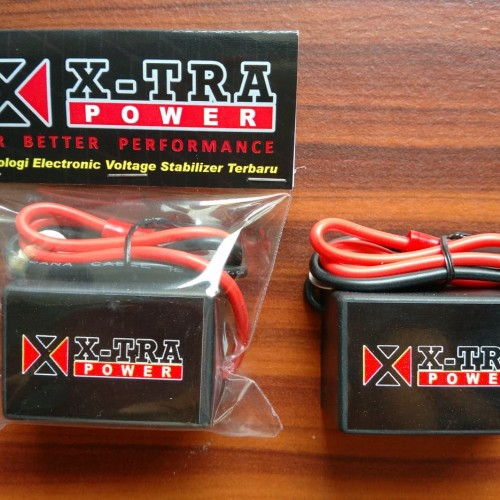 Foto Produk Volt Stabilizer Penghemat BBM Motor - XTRA POWER MOTOR dari Pajadadi Shop