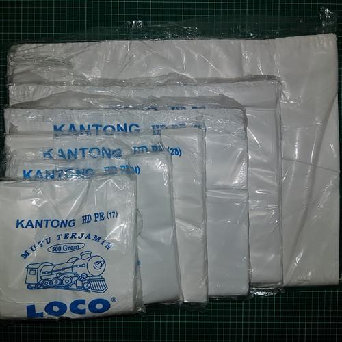 Foto Produk KANTONG PLASTIK HD LOCO TEBAL PUTIH KEMASAN 500GRAM - 17 dari KiosCepat