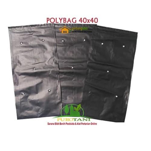 Foto Produk Polybag HD Ukuran 40x40 1kg 70pcs dari Purotani.ID