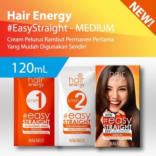 Foto Produk Makarizo Hair Energy Easy Straight - MEDIUM 120 mL Pelurus Rambut dari Makarizo