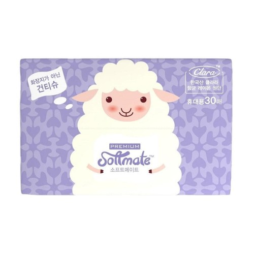 Foto Produk Softmate Premium Portable Tissue (30 sheets) dari Chubby Baby Shop