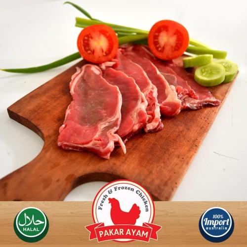 Foto Produk Daging Sapi Slice Tipis Kemasan 250gr. Untuk Teriyaki & Yakiniku dari Pakar Ayam