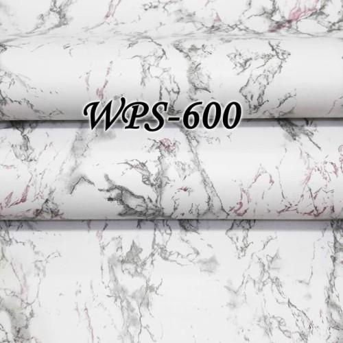 Foto Produk WALLPAPER STICKER / STIKER 45CMx5M WPS600 MARBLE MARMER MIX PURPLE dari JEJOMART