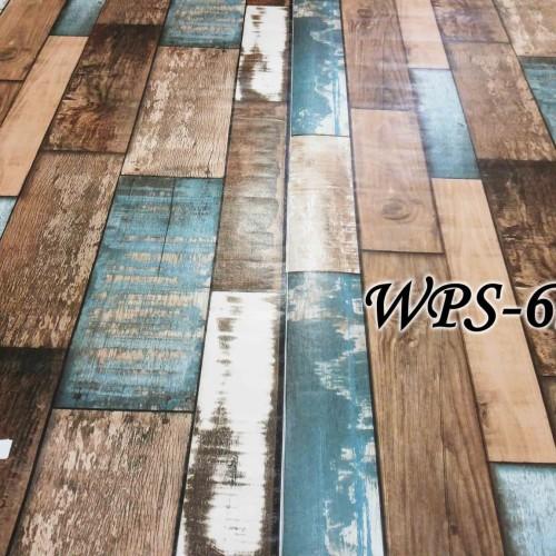 Foto Produk WPS626 WOOD BOARD PAPAN KAYU WALLPAPER STICKER WAL PAPER DINDING dari radja dinding
