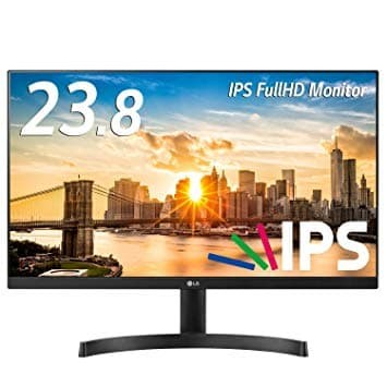 "Foto Produk Monitor LED LG 24MK600M-B 75Hz (3-side Borderless IPS) 24"" Freesync dari House of Geeks"