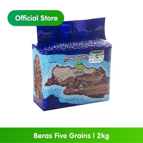 Foto Produk GASOL Organik Beras Five Grains 2Kg / 2 Kg / Makanan Bayi dari Gasol Organik Indonesia
