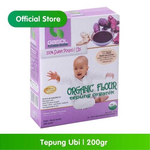 Foto Produk GASOL Organik Tepung Ubi 200Gr / 200 Gr / Makanan Bayi dari Gasol Organik Indonesia