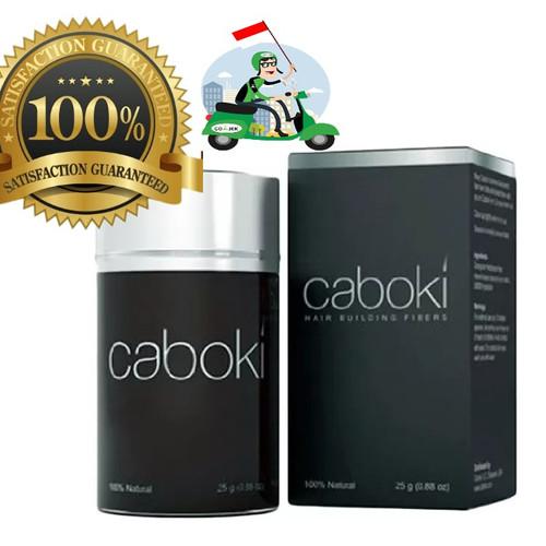 Foto Produk 100% Original! Caboki Hair Fiber 25g BLACK - BLACK dari cabokistore.ID